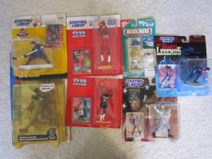 BRETT HULL Jerry Stackhouse Starting Lineup McFarlane Collectibles (Raleigh)