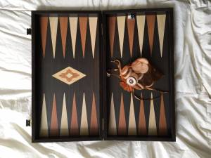 Manopoulus Handmade Backgammon Set | Bought for $375 (Greenwich Village)