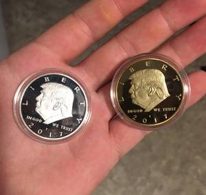 President Trump Coin (Great Falls)