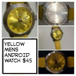 Yellow Men's