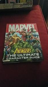 Marvel Encyclopedias and glassware set (N FORT WORTH)