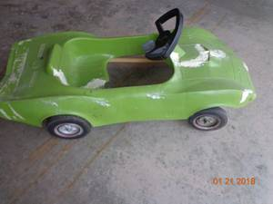 Corvette Peddle Car (Janesville)