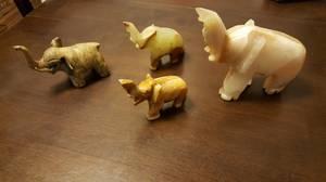 Elephant figurines (Beaver Dam)