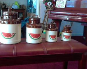 mccoy cannster set (sevierville)