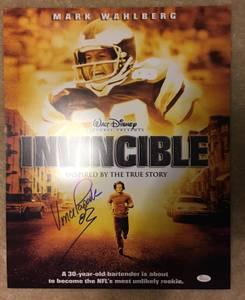 Invincible Autographed 16x20