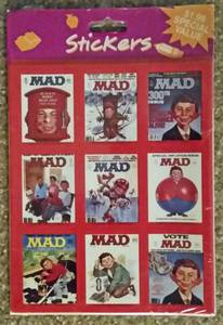 MAD Magazine Sticker sets (I-40&42 at Exit 312)