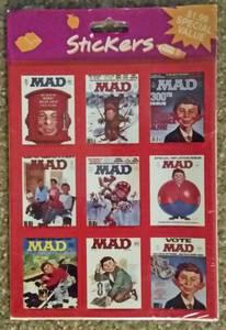 MAD Magazine Sticker sets (I-40&42 at Exit 312)