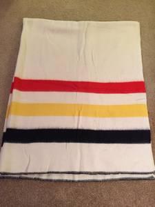 Hudson Bay & Baron Wool Blankets (yakima)