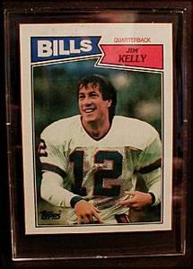 Jim Kelly 'Buffalo Bills' QB 1987 Rookie Card. Mint. (Twin Falls)