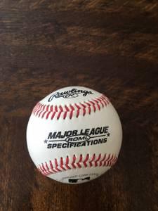 Keith Hernandez signed baseball (Yonkers)