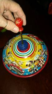 Spinning Top Western Germany 1950's very rare (Fredrickson-Spanaway)