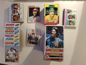 Lot of 450 1970's Baseball Cards (Midtown)