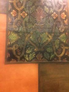 Oil Painting Wall Leather Tapestry (Henderson)
