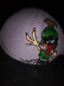Marvin the Martian ZOMBIE snapback hat