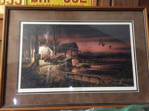 Hunter's Haven A Terry Redlin Created Encore Image - Framed Print (Farmington)