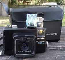 Vintage Minolta Autopak 600-X 126 Film Camera (East Atlanta)