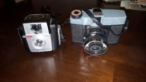 Vintage cameras (Beaver Dam)