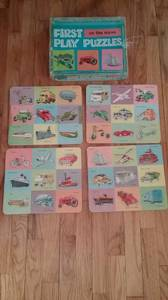 1961 First Play Puzzle (Janesville)