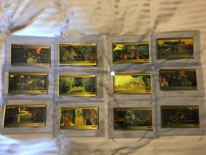 14 Star Wars Non-Sport Trading Card Master Sets (Alexandria)