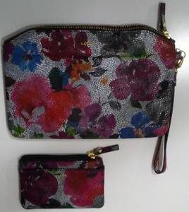 Beautiful BRAND NEW RFID Lotis Matching Handbag and Coin Purse!!!