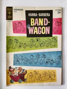 Gold Key Hanna-Barbera Band-Wagon #2 1963 Comic Book (Twin Falls)