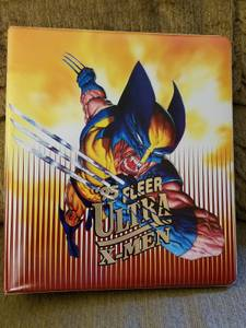 1995 Fleer Ultra X-Men Binder Complete Set. Ultra Marvel Comics (WPB 45th St.
