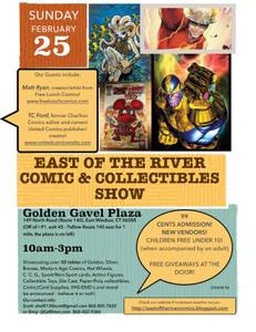 Comic and Collectibles Show 2/25 (E. Windsor CT)