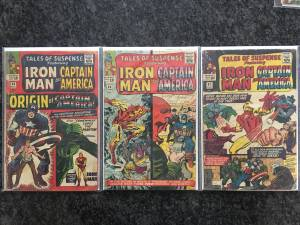 Marvel Tales of Suspense: Iron Man & Capt America COMIC BOOKS (Warwick, RI)