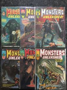 MARVEL COMICS - MONSTERS UNLEASHED LOT (Warwick,RI)