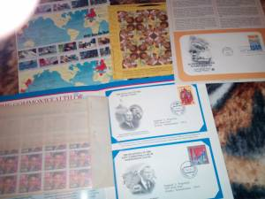 Stamps...Commemorative Covers Set (Ridley)