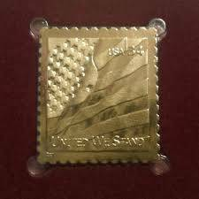 2001 United We Stand Stamp First Day Cover with 22K Gold Replica (Highlands