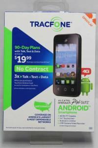 Alcatel Pulsar Pixi Glitz TRACFONE SafeLink 4G Android Phone NIB (Lansing,Il)