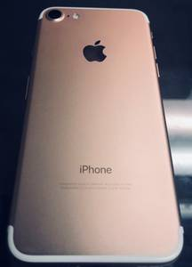 Iphone 7 regular rose gold att cricket (garland)