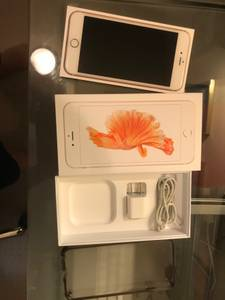 iPhone 6s Plus 64GB Rose Gold Unlocked - Excellent shape (Tigard)