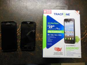 Android Smartphone Resale Lot (Saginaw, Mich)