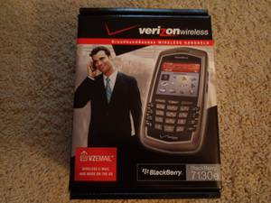 brand new factory sealed Verizon Blackberry 7130e (Bartlett)