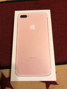 iPhone 7 Plus 128gb Rose Gold Att Warranty LN (Thornville)