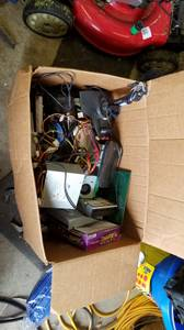 Box of computer stuff $20 (Lancaster)