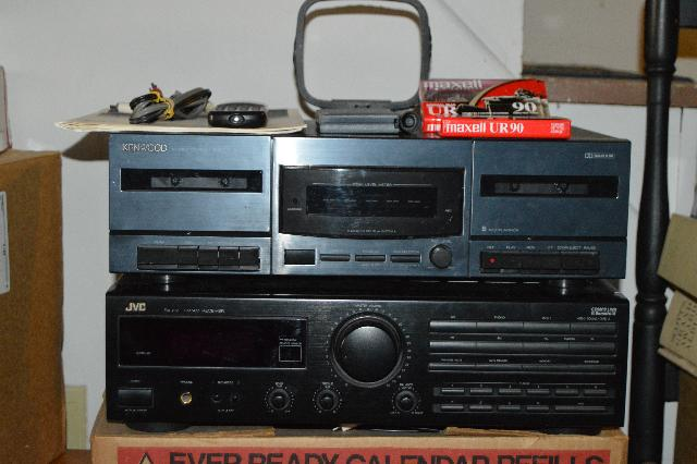 Jvc Rx-212bk Receiver and Kenwood