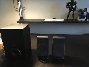 Computer Speakers w/subwoofer (Arvada)
