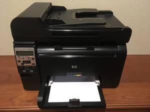 HP LaserJet Color Printer All In One Wireless Like New (Woodland Park)