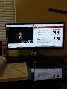 16 GB Gaming PC + Widescreen monitor (84403)