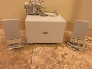 Computer Speaker and Subwoofer, Cyber Acoustics Platinum Series (Campbell/River)