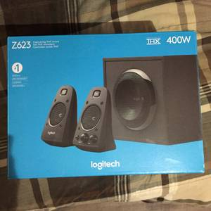 Logitech Z623 400W THX Certified Desktop Speakers (Twin Falls)