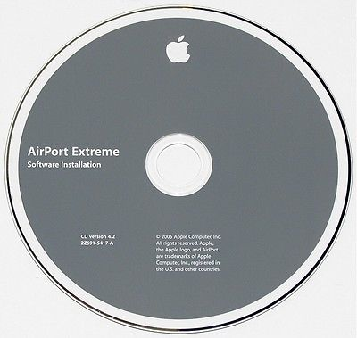 Apple AirPort Extreme CD version 4.2 for Mac - 2Z691-5417-A