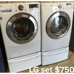 Washer & Electric Dryer