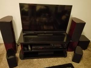 Complete 5:1 Denon\Wharfendale Home Theater System (Vancouver)