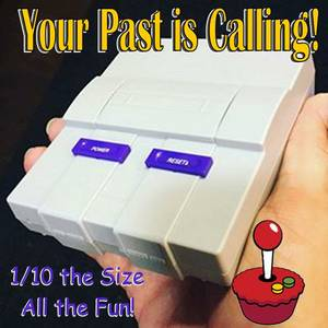 OK Carlin Your Past is Calling You! Better that a SNES Classic! (Carlin)