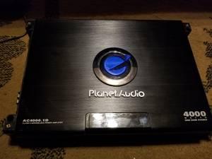 Planet Audio AC4000.1D 4000 Watt Car Amplifier (Middle River)