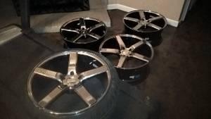 20 inch Nichie wheels and tires (Bartlett tn)